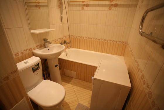 В ремонте ванной комнаты и туалета